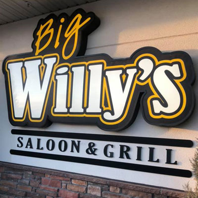 Big Willys Sign 400 400
