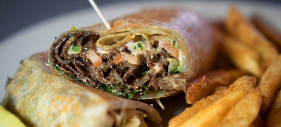 Steak Wrap With Chipotle Sauce